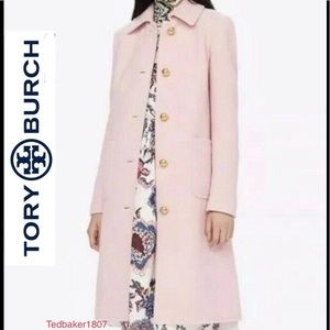Tory Burch Colette coat firm price